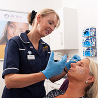 Cosmetic Courses: Photo showing our Botox courses