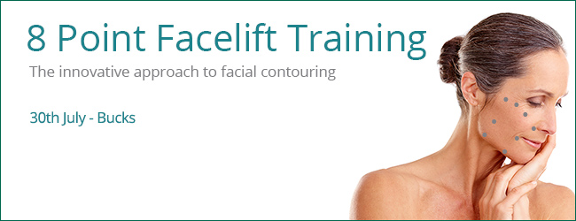 Cosmetic Courses: 8 Point Facelift Training using Advanced Dermal Fillers