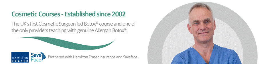 Our Botox training podcasts by Mr Adrian Richards, Cosmetic Courses