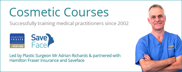 Cosmetic Courses: Training medical professionals in Botox and dermal fillers since 2002
