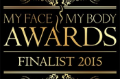 Cosmetic Courses: Image showing the My Face My Body Awards Finalist Logo