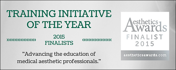 Cosmetic Courses: Aesthetic Awards Finalists