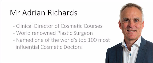 Mr Adrian Richards - Cosmetic Courses Director
