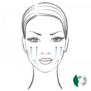 Cheek Filler Diagram