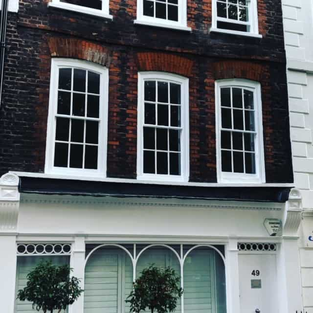 Outside building Cosmetic Courses London