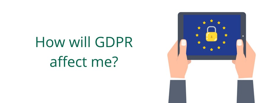 How will GDPR affect me_