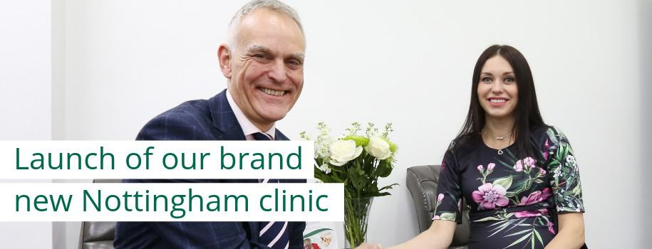 launch of our brand new nottingham clinic