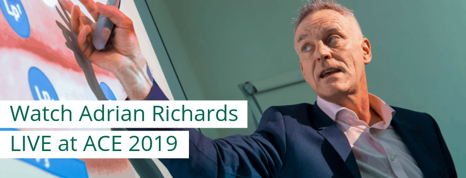 Watch Adrian Richards LIVE at ACE 2019