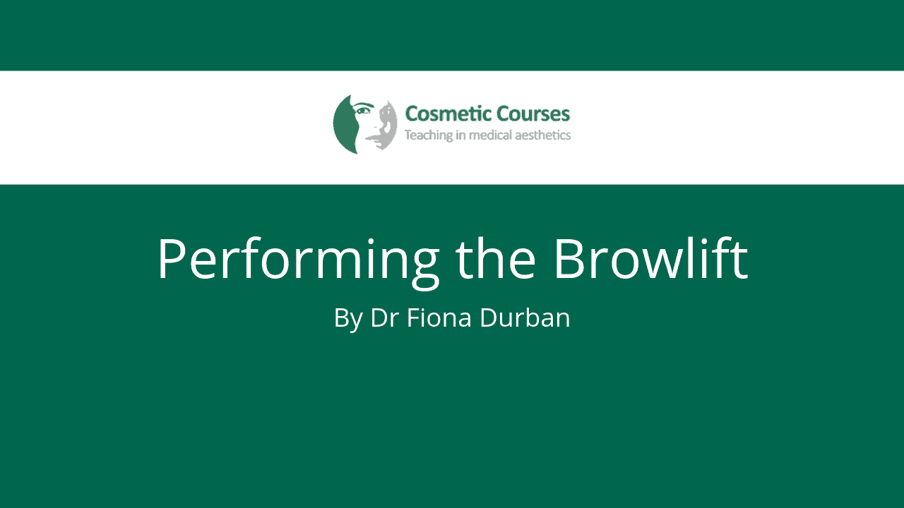 Performing the Browlift