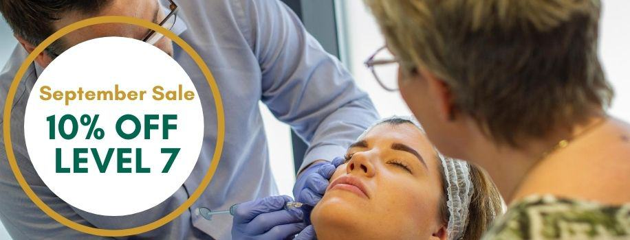 September Sale 10% OFF Level 7 cosmetic courses